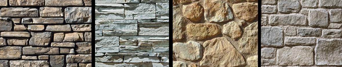 Pietra ricostruita per rivestimenti esterni mattonelle - Finta pietra per esterno ...