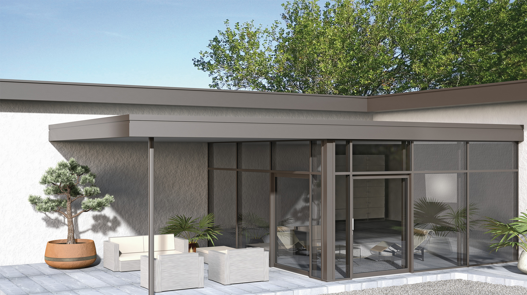 Finstral verande balconi a vetro e vetrate per tetto - Vetri termici per finestre prezzi ...